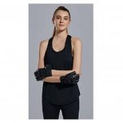 T Camisa + Sostén Mujeres Deporte Gimnasio Tank Tops - Negro