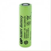 Акумулаторна Батерия R6 AA 220AAH-B 2200mAh NiMH 1 бр. BULK Industrial GP, GP-BR-R6-2200-BULK