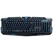 Tastatura Media Tech Cobra Pro MT1252, US Layout, Iluminata, USB (Negru)
