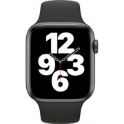Apple Watch SE 44mm (GPS Only) Aluminium Case Grey Sport Band Negru