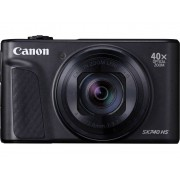 Canon PowerShot SX740 HS Digitale camera 20.3 Mpix Zoom optisch: 40 x Zwart 4K Video, Bluetooth, Draai- en zwenkbare display, Full-HD video-opname