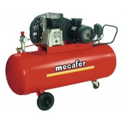 Compresor aer comprimat Mecafer B3800B 200L 10 bari, cu ulei