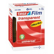 tesa SE tesafilm® transparent, 10 Rollen, Office-Box