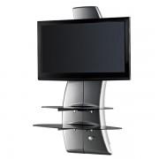 Meliconi Ghost Design 2000 Silver Supporto da Muro per TV da 32 a 65