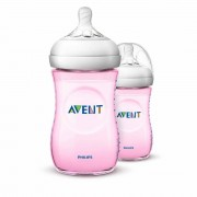 Avent Philips Avent Naturnah Flasche 2 x 260 ml Rosa