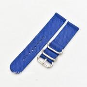 Curea din tesatura de nylon albastră catarame zulu 18mm - 4080518