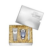 Coffret invictus edt 50ml+gel de duche 100ml+travel size 10ml - Paco Rabanne