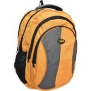 New Era casual backpacks backpack amye 40 L Backpack(Orange, Grey, Yellow)