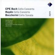 Haydn/ Bach/ Boccherini - Cello Concertos/ Sonata In (0809274959423) (1 CD)