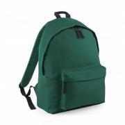 Bagbase Donker groen rugtas reistas met voorvak 14 liter voor kinderen
