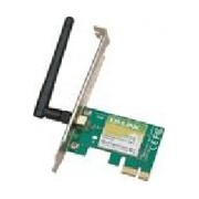 TARJETA DE RED PCI EXPRESS X1 INALAMBRICA TP-LINK TL-WN781ND WIRELESS 802.11N/G/B150MBPS ANTENA DESMONTA 2DBI