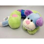 Cloudz Soft N Cuddly Travel Pillow Plush Multi Color Dog