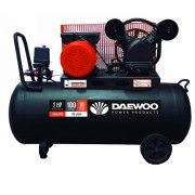Компресор бутален 2.0HP/1.5 kW/ 100 l/ ремъчен, DAC100C V Type, DAEWOO