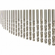 Klutch Cobalt High Speed Steel Drill Bit Set - 21-Piece