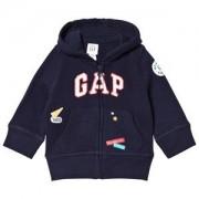 GAP Garch Hoodie Navy Uniform 18-24 mån