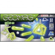 Set constructie magnetic Geomag Glow 22 piese