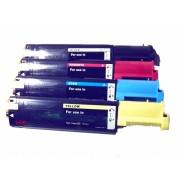 Vorteilspack 4xToner passend f. Dell 3000CN , Dell 3100CN , Dell 3000 CN , Dell 3100 CN