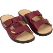 Dr. Scholls Women Maroon Sandals