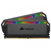 Corsair Dominator Platinum Kit di Memoria per Desktop a Elevate Prestazioni DDR4 32Gb 2x16Gb 3000MHz Rgb