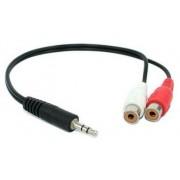 Kabel Mini Jack - 2*Cinch GN 0,2m