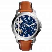 Часовник FOSSIL - Grant ME1161 Light Brown/Silver Steel