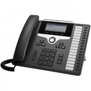 Cisco 7861 Wired handset 16lines LCD Black,Silver IP phone