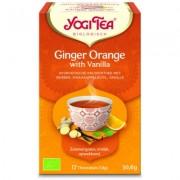 Yogi Tea Ginger orange vanilla 17 Stuks