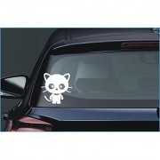 Beautiful Cat Car Truck Window Bumper Vinyl Sticker Sticker 26
