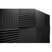 "Acoustic Foam Panels; Studio Wedge Tiles; 12 Pack; 1"" X 12"" X 12"""