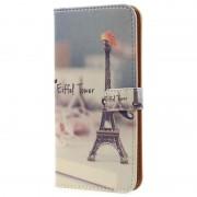 Capa tipo Carteira Glam para Samsung Galaxy S8+ - Torre Eiffel