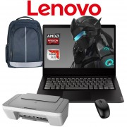 Laptop Lenovo S145-14AST Amd A4-9125 Hdd 500gb Ram 4gb W10 + Kit