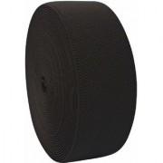 Bauzooka Honeycomb Elastic Black 25 Meters x 110 mm (Width) Used for Tailoring/Sewing