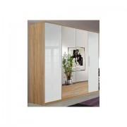 WIMEX garderobekast 'Genève' - 494.99 - beige - Size: 180 x 199 x 58 (b x h x d) cm , 4-deurs