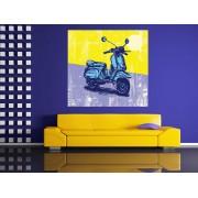 Tablou Grand Canvas ilustratie digitala scooter - cod Z10