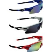 Zyaden Sports Sunglasses(Multicolor)