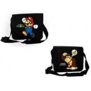 Geanta Super Mario Bros. Donkey Kong And Mario Reversable