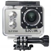 SJCAM SJ7 STAR NATIVE 4K 2.0 pouces écran tactile 16,0MP WiFi caméscope sport avec étui étanche, programme Ambarella A12S75, grand angle 166 degrés, 30m étanche (argenté)