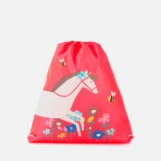 Joules Girls' Active Bag - Pink Horse