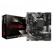 Matična ploča Asrock AMD AM4 Socket A320M chipset mATX MB ASR-A320M-HDV-R4.0