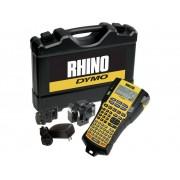 DYMO RHINO 5200 Kit Labelmaker Geschikt voor labels: IND 6 mm, 9 mm, 12 mm, 19 mm