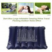 EY AT6223 Azules Cuadrados Oscuros Bolso De OPP Almohadilla Flocado-azul Oscuro