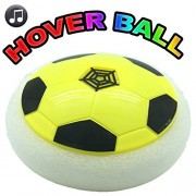 May Toys ÌĉÛ_Ìå¨ The Amazing Hover Ball- Air Power Soccer Ball Equipped with Powerful Led Light, Music and Foam Bumpe