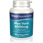 Simply Supplements Aloe Vera 6000 mg - 360 Comprimidos