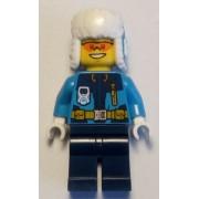 cty0928 Minifigurina LEGO City-Explorator arctic cty0928