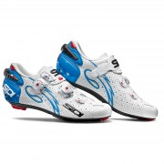 Sidi Wire Carbon Air Vernice Women's Cycling Shoes - White/Light Blue - EU 42