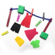 Boredom Busters Busy Bags Educational DIY toys for kids Clothesline for Age 2 years above