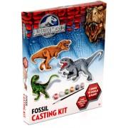 Jurassic world, fossil casting kid!