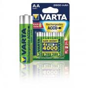 Varta Ready2Use R6 (AA) NiMH HR06 Laddbart batteri 2600 mAh 1.2 V - 4 st