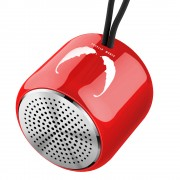 M9 Small Steel Gun Speaker Bluetooth 5.0 Subwoofer Portable Mini Loundspeaker - Red