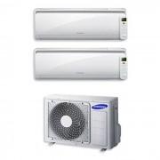 Samsung Condizionatore Samsung Dual Split Inverter 7000+12000 7+12 Btu Maldives A++ Aj040fcj2eh/eu
